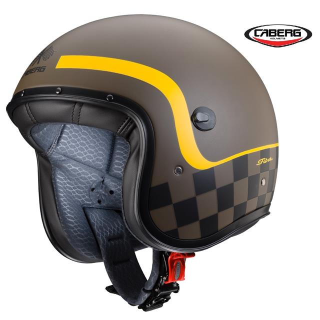Casco Caberg Jet Freeride Formula Matt Brown //Yellow New Collection